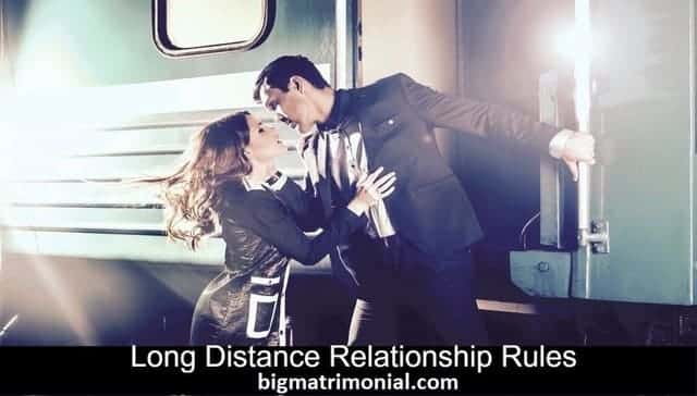 long distance relationship rules