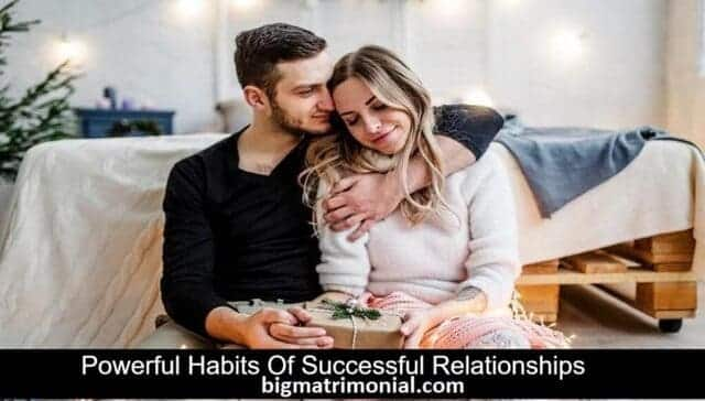 habits of successful relationships
