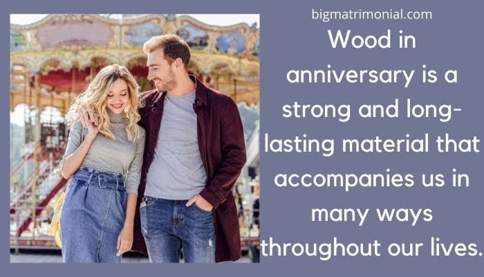 wooden anniversary meaning