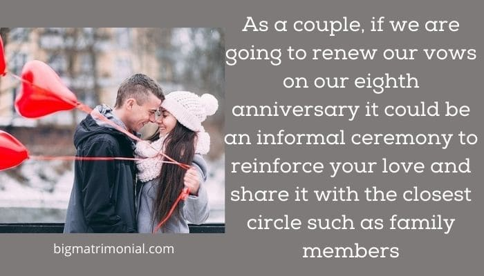 8th wedding anniversary meaning