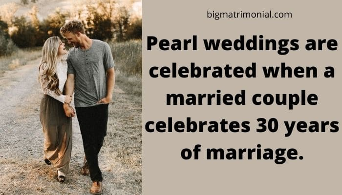 30th Wedding Anniversary Meaning