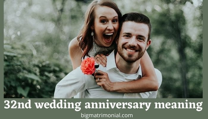 32nd Wedding Anniversary Meaning