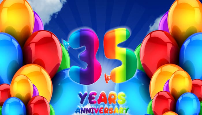 35 years anniversary meaning